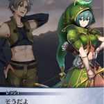 レラジェ(カウンター)のキャラストーリー:山奥に現れた男、レラジェが弓を使う時、幻獣との戦い