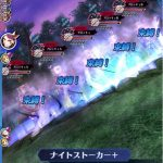 7章-62 メギドと幻獣 アーライの森にてクロッキュを攻略!カスピエルLで覚醒ゲージ減少を予防!