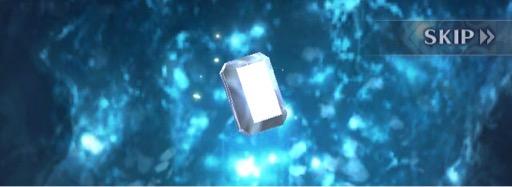 四角い宝石が来ましたよ