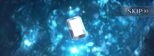 煌めくバーストの宝石